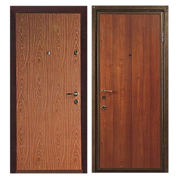 Входная металлическая дверь L-002 с ламинированной панелью