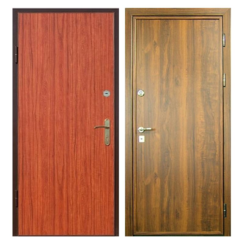 Входная металлическая дверь L-003 с ламинированной панелью