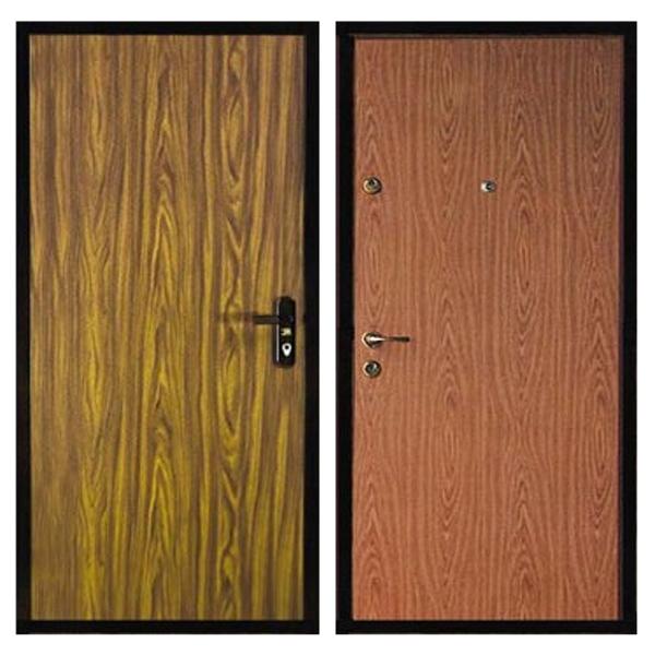 Входная металлическая дверь L-006 с ламинированной панелью