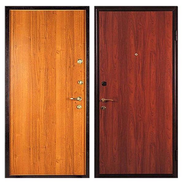 Входная металлическая дверь L-008 с ламинированной панелью