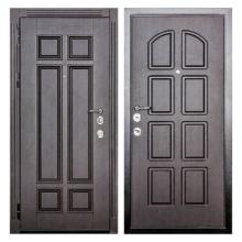 Входная металлическая дверь MM-001 (МДФ панели снаружи и внутри)