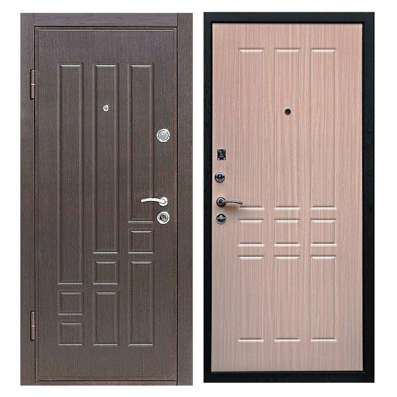 Входная металлическая дверь MM-002 (МДФ панели снаружи и внутри)