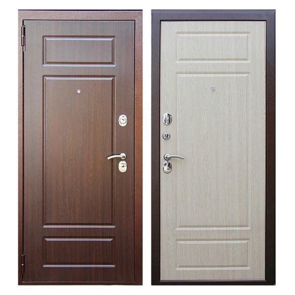 Входная металлическая дверь MM-004 (МДФ панели снаружи и внутри)