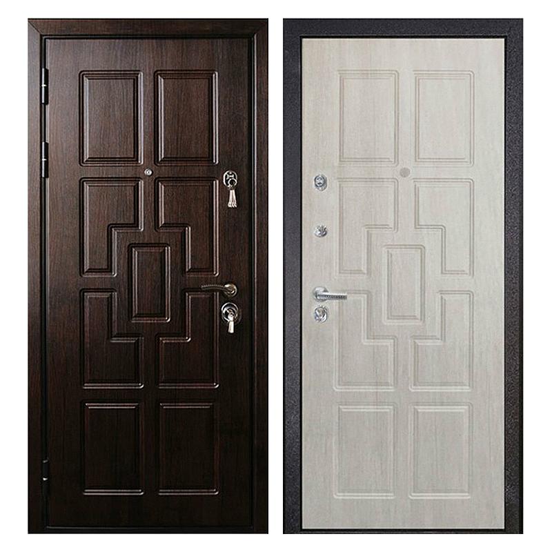 Входная металлическая дверь MM-005 (МДФ панели снаружи и внутри)