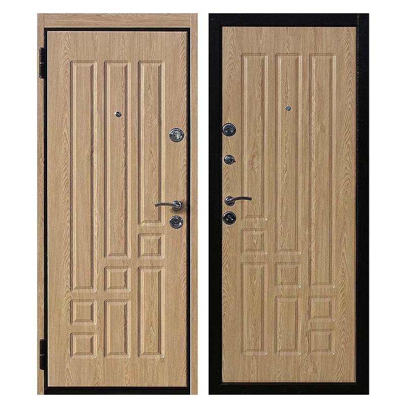 Входная металлическая дверь MM-008 (МДФ панели снаружи и внутри)