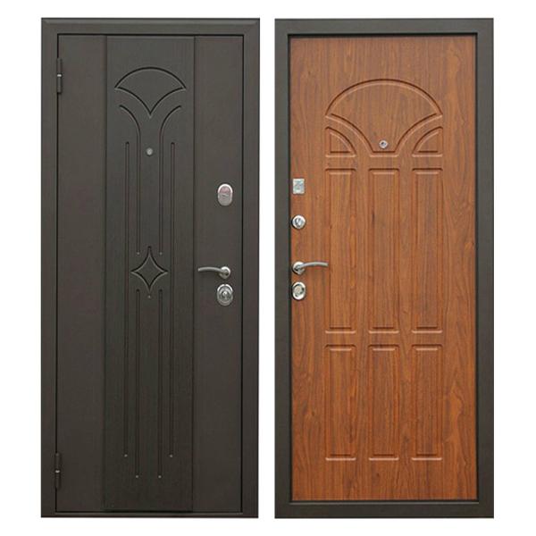 Входная металлическая дверь MM-010 (МДФ панели снаружи и внутри)