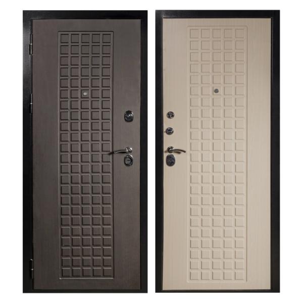 Входная металлическая дверь MM-011 (МДФ панели снаружи и внутри)