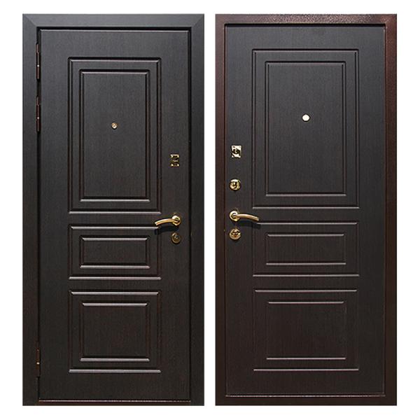Входная металлическая дверь MM-013 (МДФ панели снаружи и внутри)