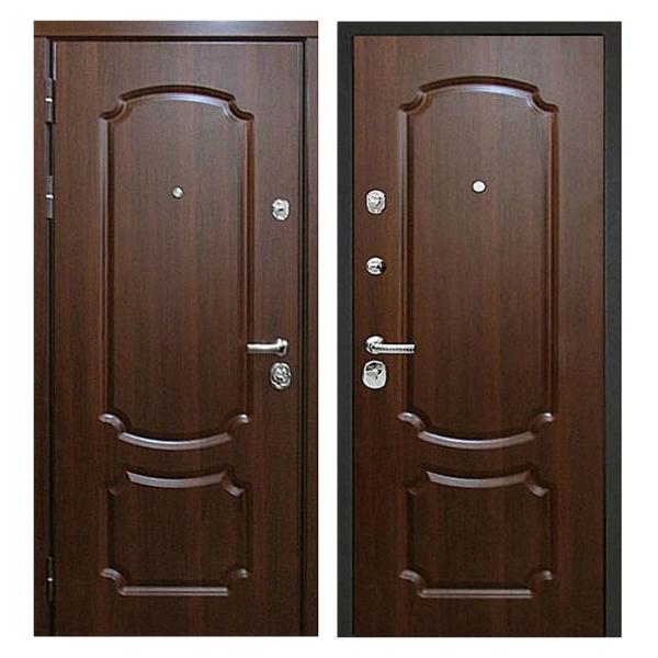 Входная металлическая дверь MM-014 (МДФ панели снаружи и внутри)