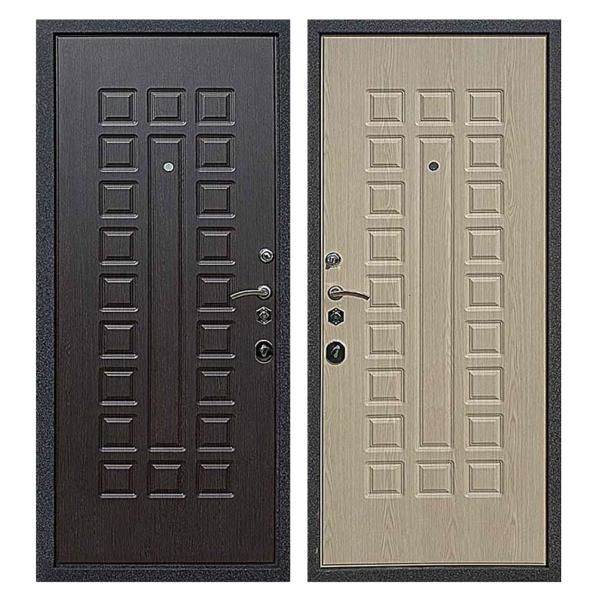 Входная металлическая дверь MM-017 (МДФ панели снаружи и внутри)
