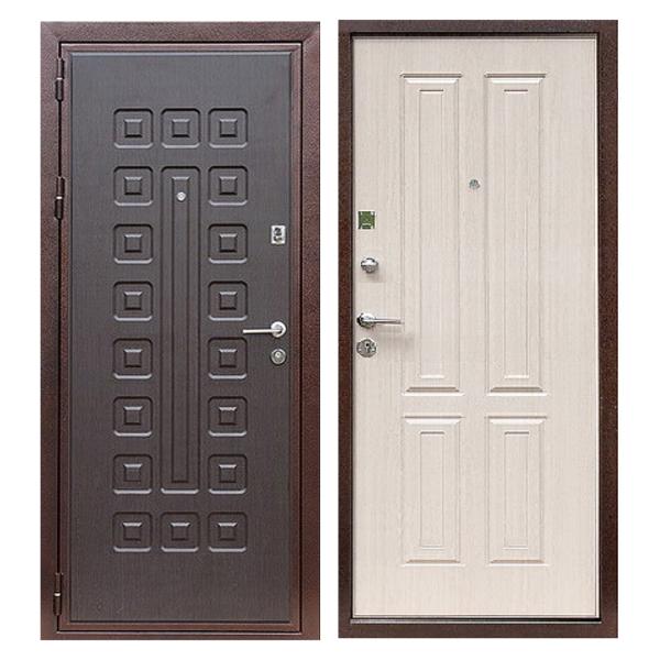 Входная металлическая дверь MM-019 (МДФ панели снаружи и внутри)