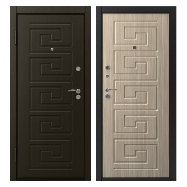 Входная металлическая дверь MM-020 (МДФ панели снаружи и внутри)