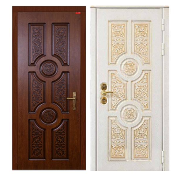 Входная металлическая дверь MR-001 (МДФ панели снаружи и внутри)