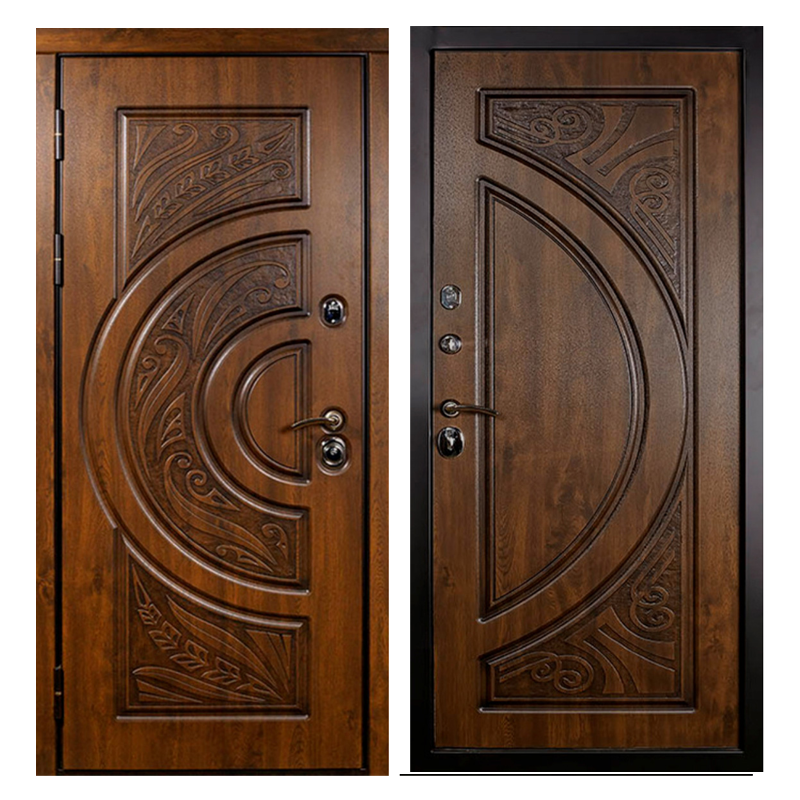 Входная металлическая дверь MR-002 (МДФ панели снаружи и внутри)