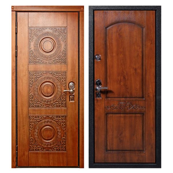 Входная металлическая дверь MR-003 (МДФ панели снаружи и внутри)
