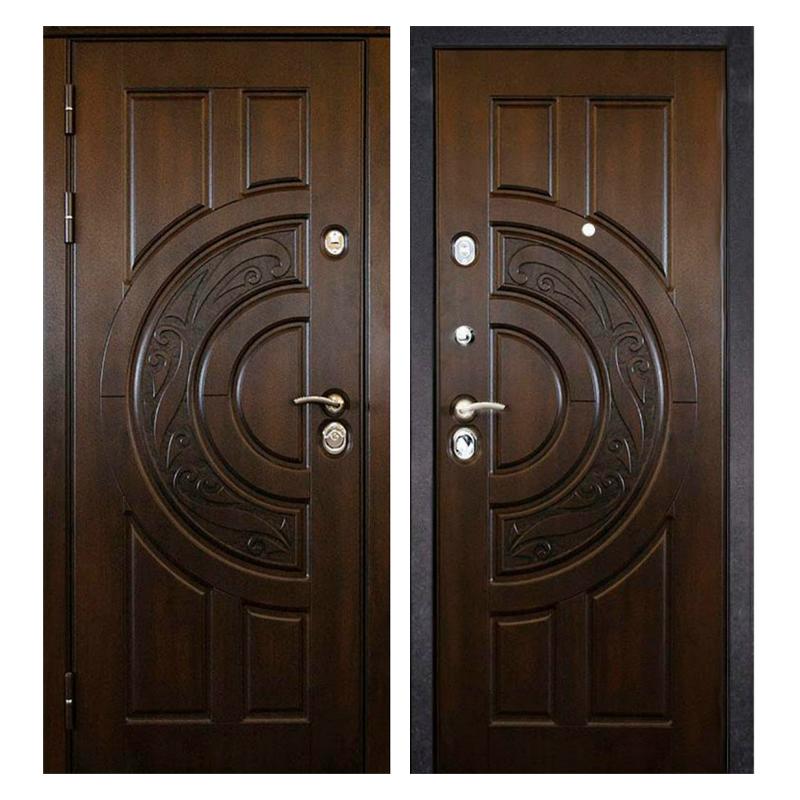 Входная металлическая дверь MR-004 (МДФ панели снаружи и внутри)
