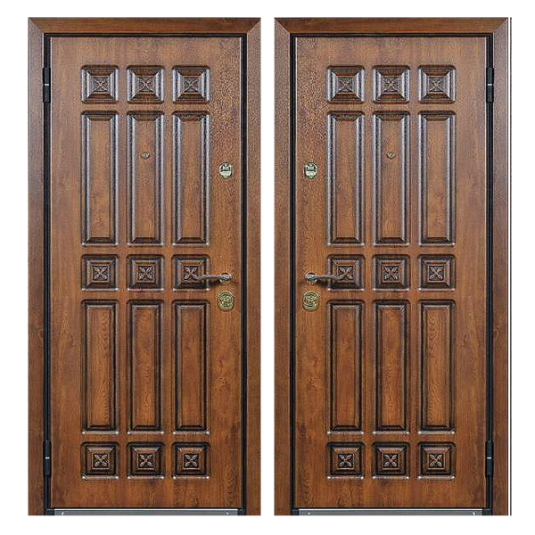 Входная металлическая дверь MR-005 (МДФ панели снаружи и внутри)