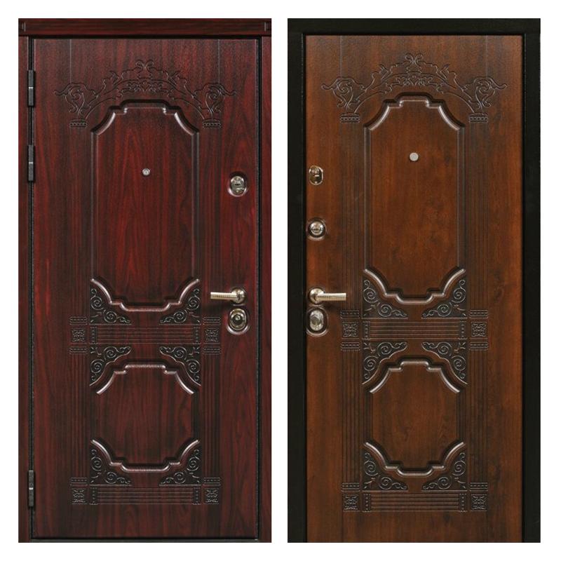 Входная металлическая дверь MR-006 (МДФ панели снаружи и внутри)