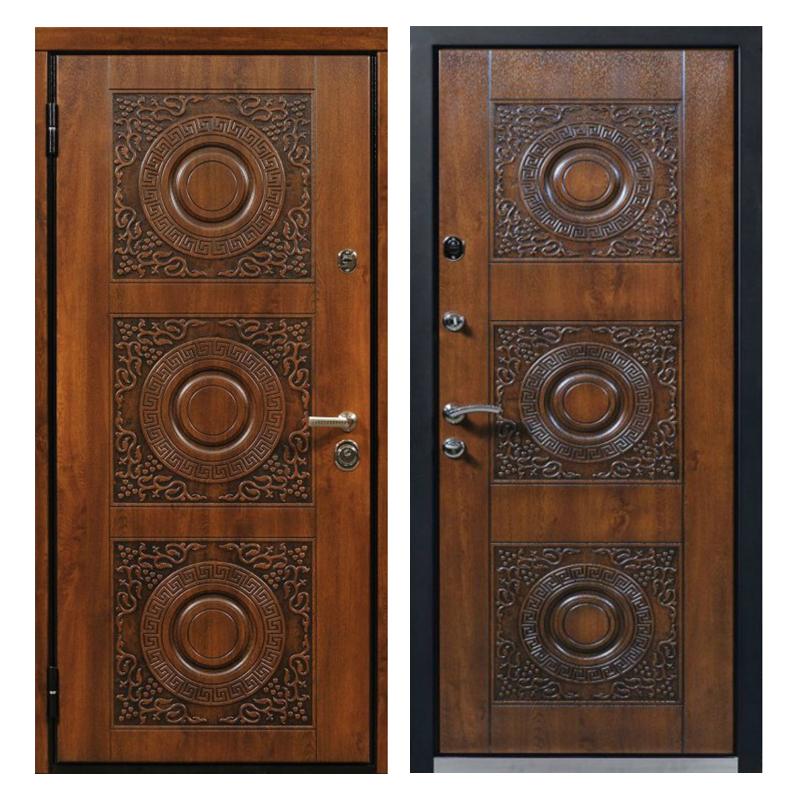 Входная металлическая дверь MR-007 (МДФ панели снаружи и внутри)