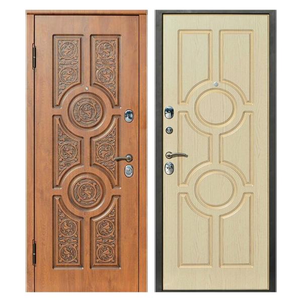 Входная металлическая дверь MR-008 (МДФ панели снаружи и внутри)