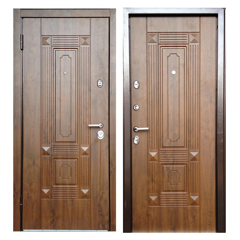 Входная металлическая дверь MR-009 (МДФ панели снаружи и внутри)