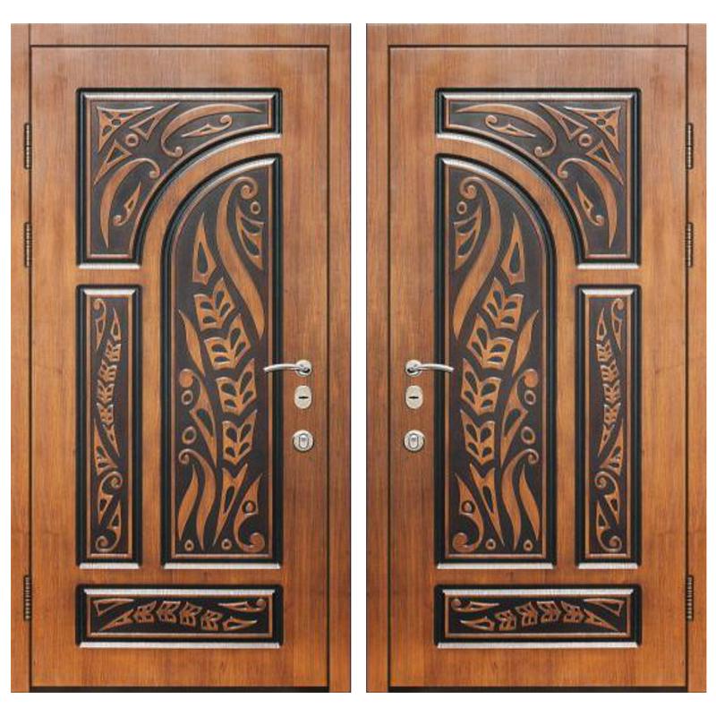 Входная металлическая дверь MR-010 (МДФ панели снаружи и внутри)