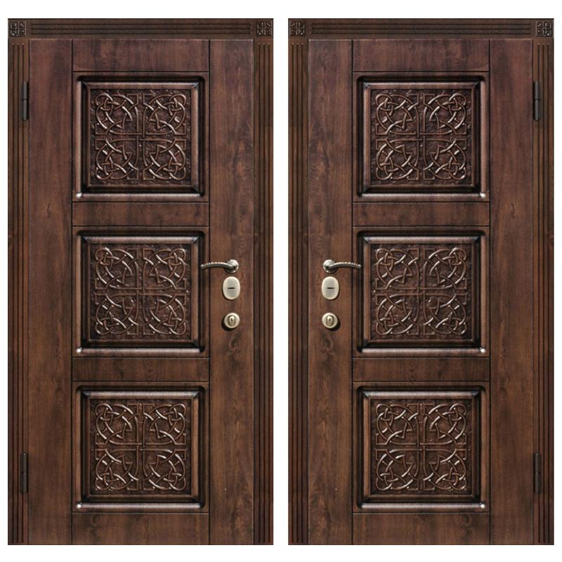 Входная металлическая дверь MR-011 (МДФ панели снаружи и внутри)