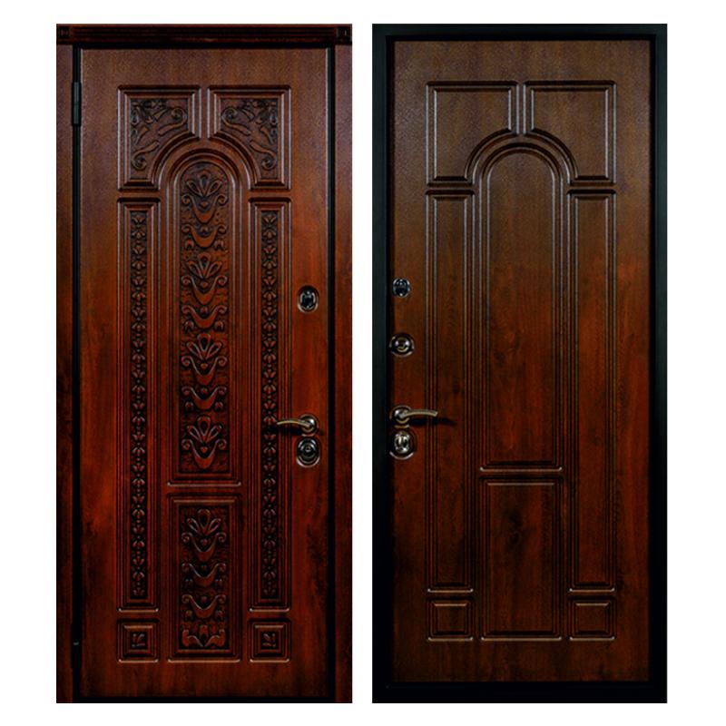 Входная металлическая дверь MR-012 (МДФ панели снаружи и внутри)