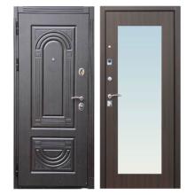 Входная металлическая дверь MRZ-004 (МДФ панели с зеркалом внутри)