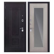 Входная металлическая дверь MRZ-007 (МДФ панели с зеркалом внутри)
