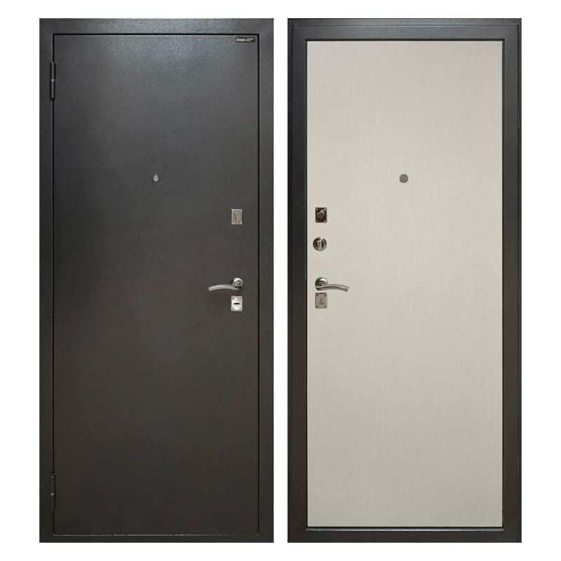 Металлическая дверь PL-001 (порошковое напыление + ламинированная панель)