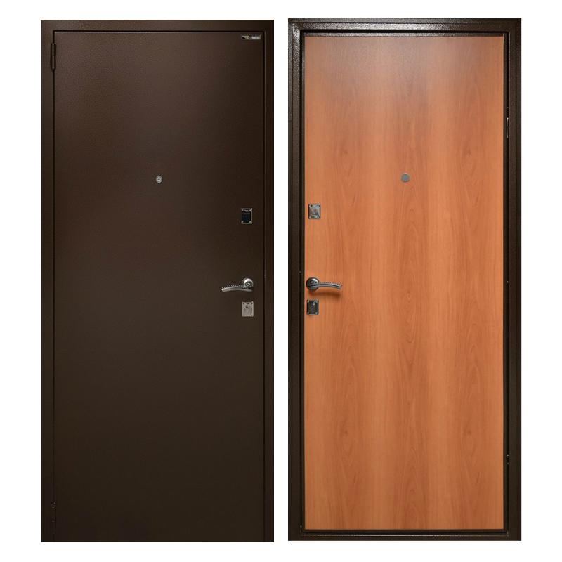 Металлическая дверь PL-002 (порошковое напыление + ламинированная панель)