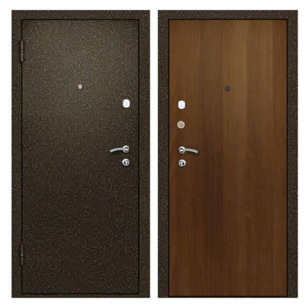 Металлическая дверь PL-004 (порошковое напыление + ламинированная панель)