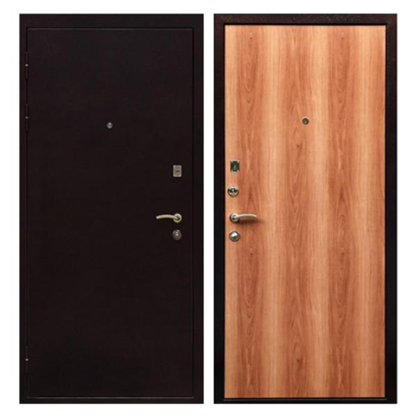Металлическая дверь PL-005 (порошковое напыление + ламинированная панель)