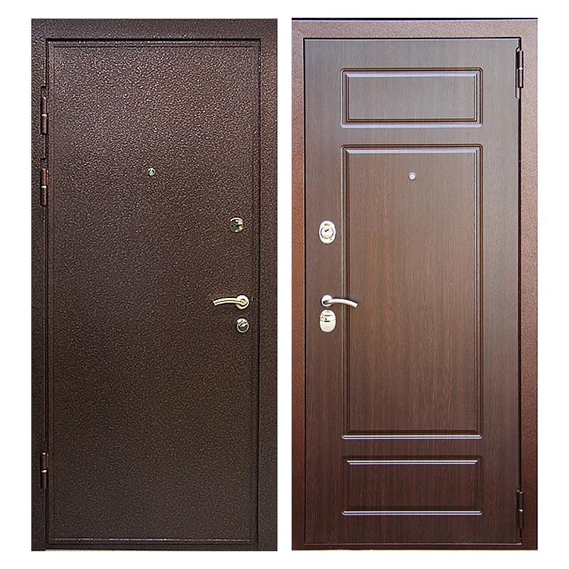 Входная металлическая дверь PM-003 (порошковое напыление + МДФ)