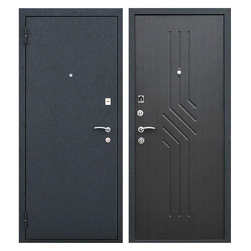 Входная металлическая дверь PM-004 (порошковое напыление + МДФ)