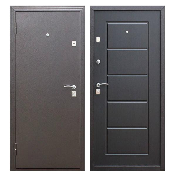 Входная металлическая дверь PM-006 (порошковое напыление + МДФ)