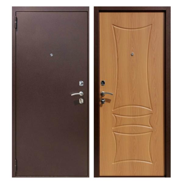 Входная металлическая дверь PM-007 (порошковое напыление + МДФ)