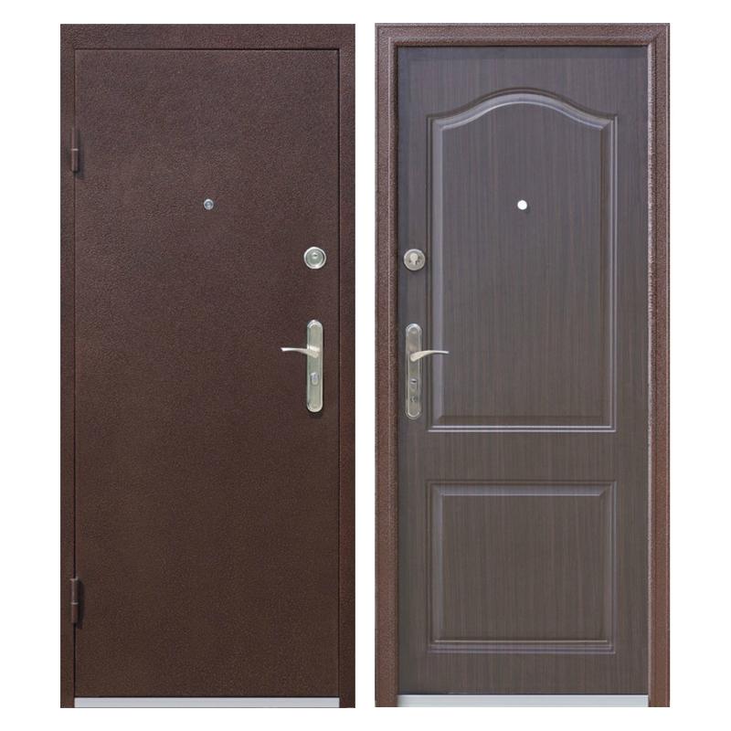 Входная металлическая дверь PM-009 (порошковое напыление + МДФ)