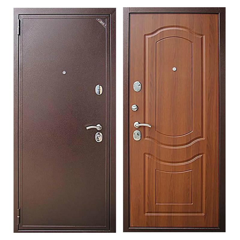 Входная металлическая дверь PM-010 (порошковое напыление + МДФ)