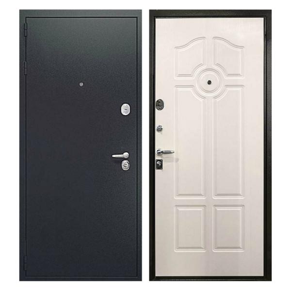 Входная металлическая дверь PM-011 (порошковое напыление + МДФ)