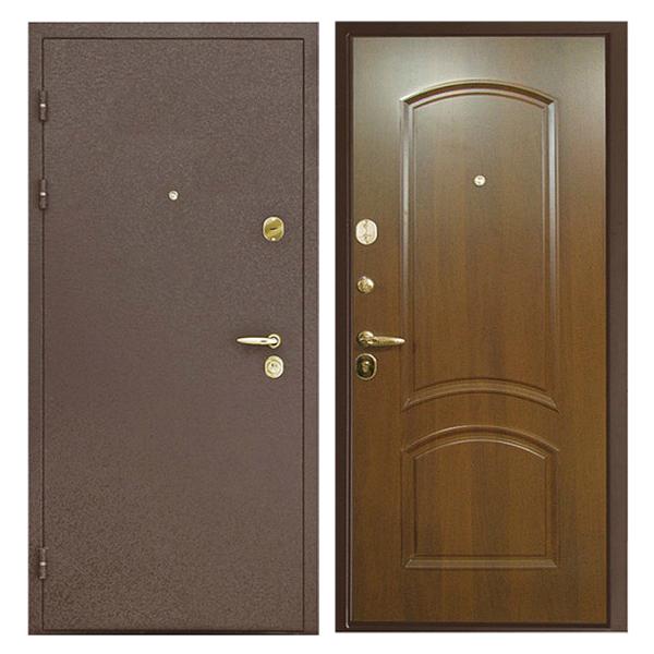 Входная металлическая дверь PM-014 (порошковое напыление + МДФ)