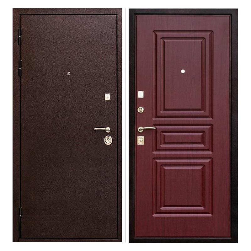Входная металлическая дверь PM-015 (порошковое напыление + МДФ)