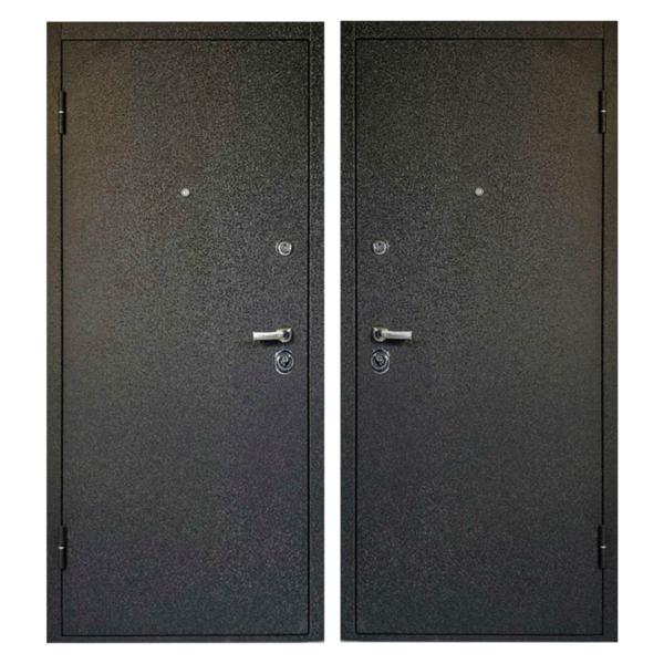 Входная металлическая дверь PP-004 (порошковое напыление снаружи и внутри)