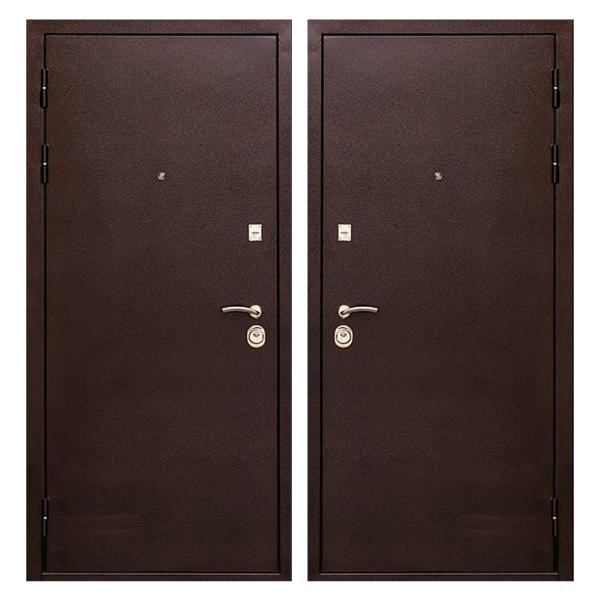 Входная металлическая дверь PP-005 (порошковое напыление снаружи и внутри)