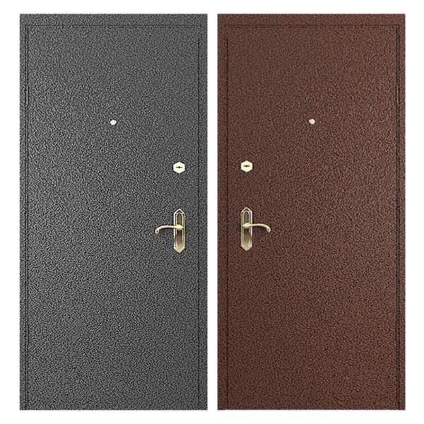 Входная металлическая дверь PP-006 (порошковое напыление снаружи и внутри)