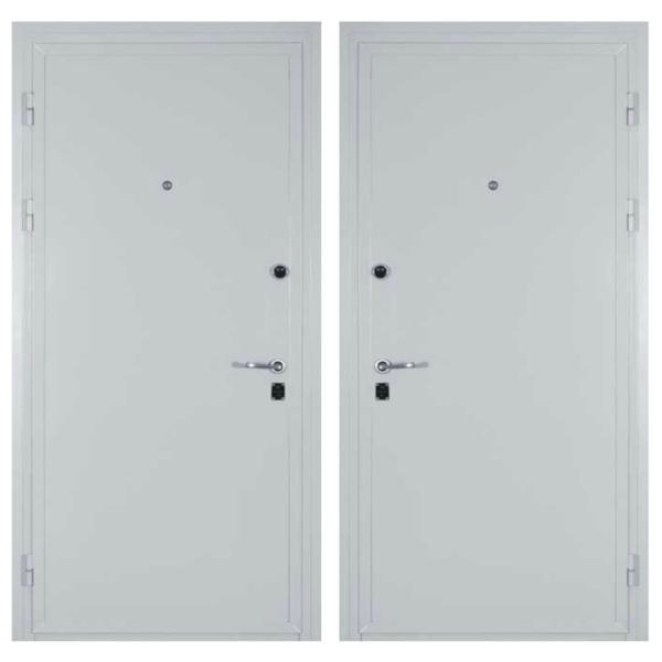 Входная металлическая дверь PP-007 (порошковое напыление снаружи и внутри)