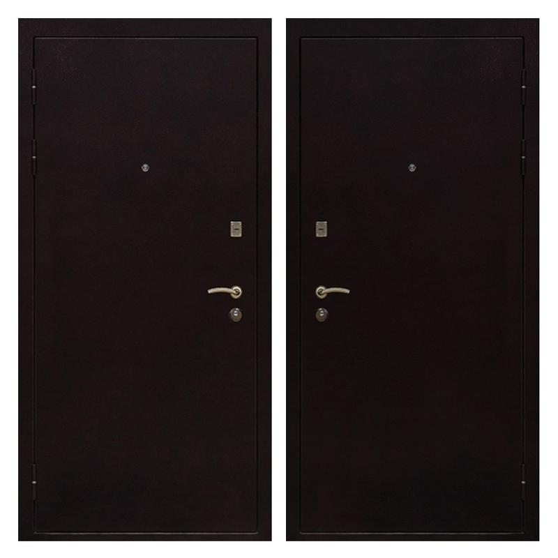 Входная металлическая дверь PP-008 (порошковое напыление снаружи и внутри)