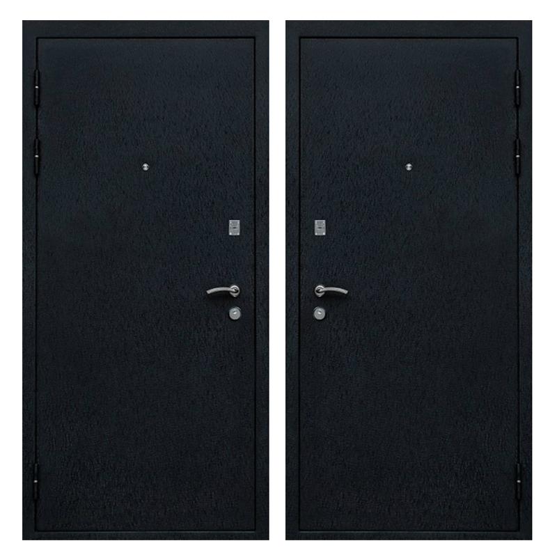 Входная металлическая дверь PP-009 (порошковое напыление снаружи и внутри)
