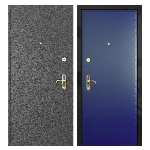 Входная металлическая дверь PV-002 (порошковое напыление + винилискожа)